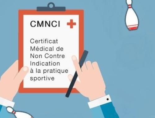 Présentation et renouvellement du certificat médical