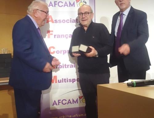 Trophées de l'arbitrage – AG Afcam du 01/10/2021